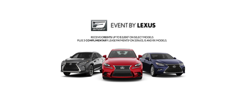 FSport Event by Lexus