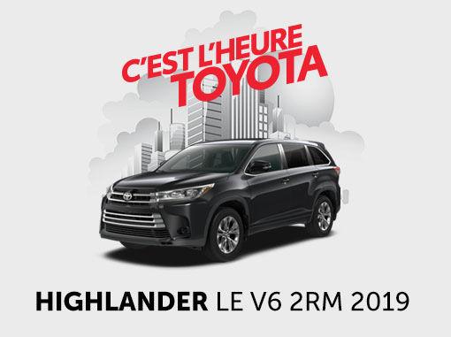 Toyota Highlander neuf en promotion à Montréal
