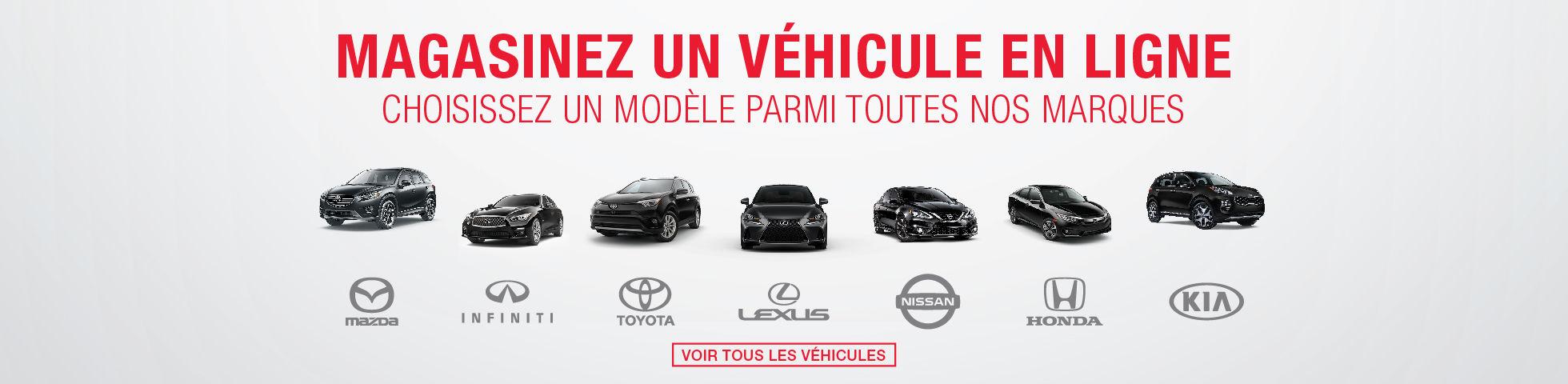 véhicules neufs