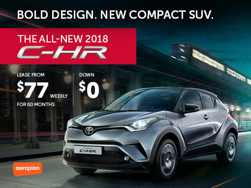 New Toyota C-HR Deals in Montreal