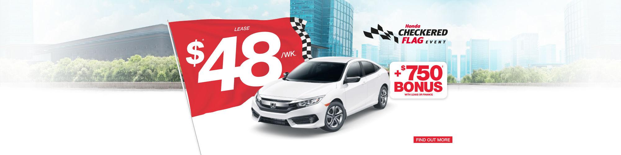 Honda Civic - Honda Checkered Flag