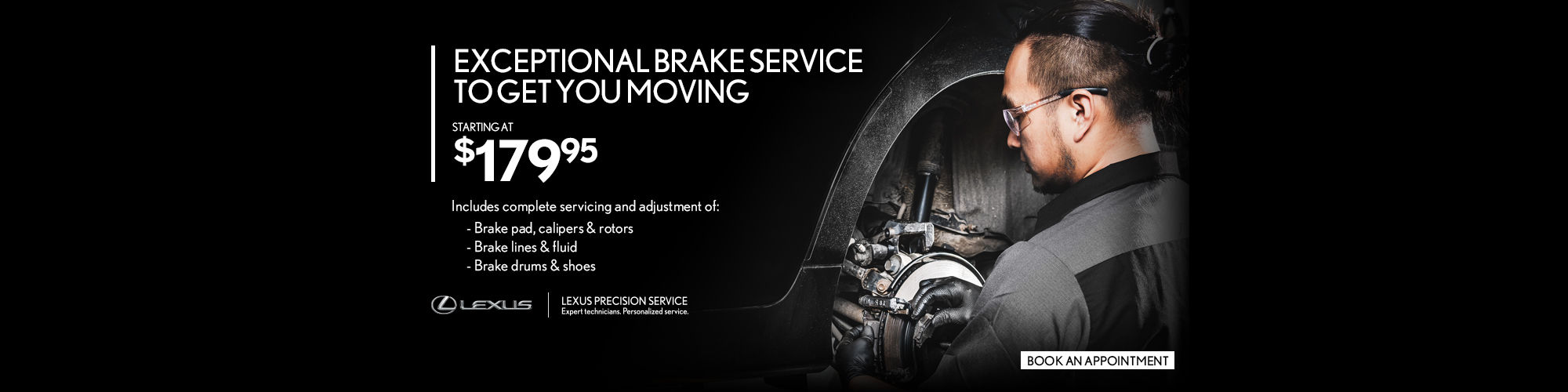 Lexus Brake Service