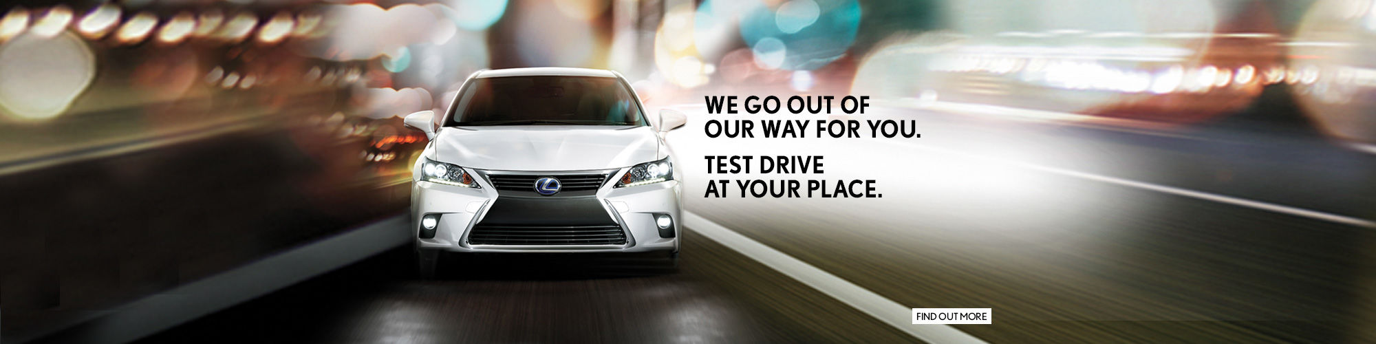Test drive at your place