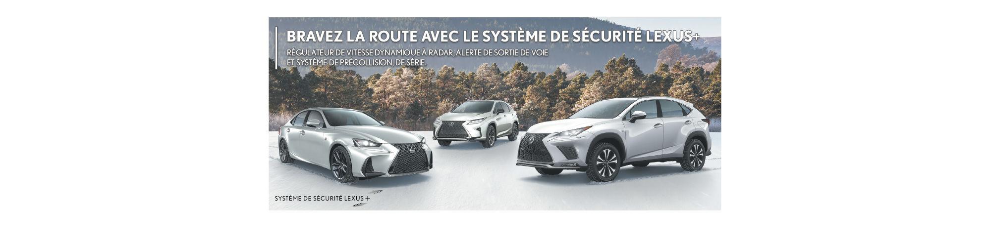 Système sécurité plus Lexus