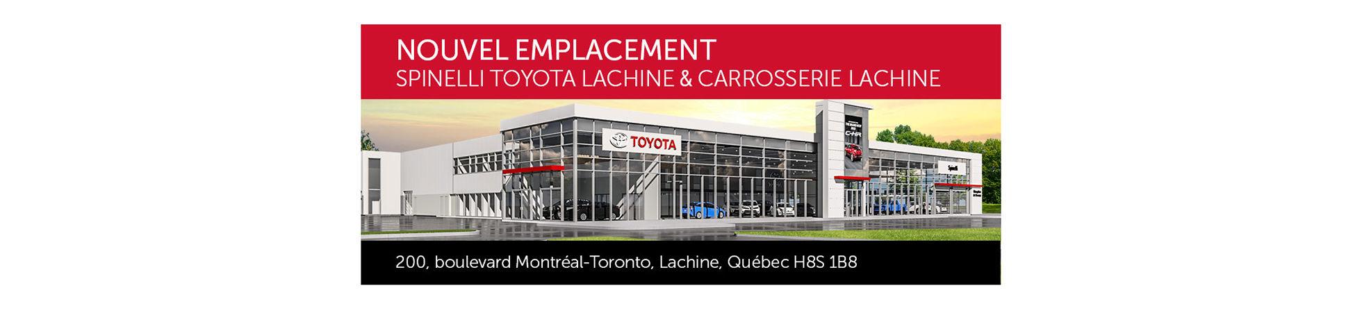 Toyota Lachine déménage
