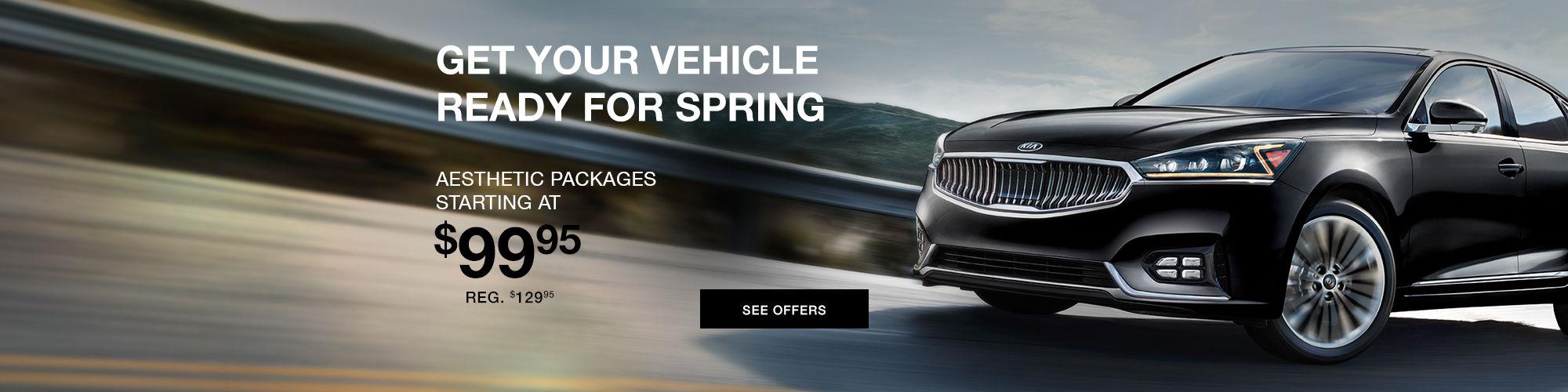 Spring car detailing offers