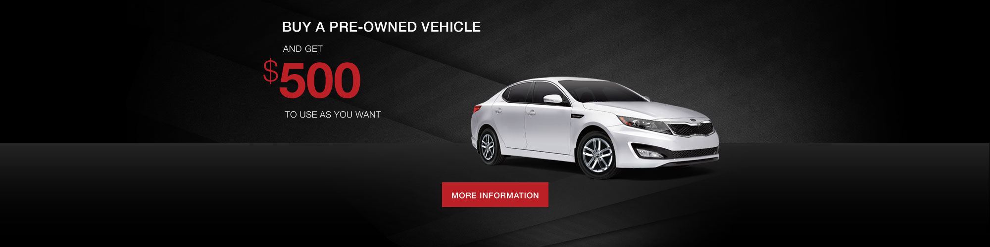 Kia Pre-Owned Promotion