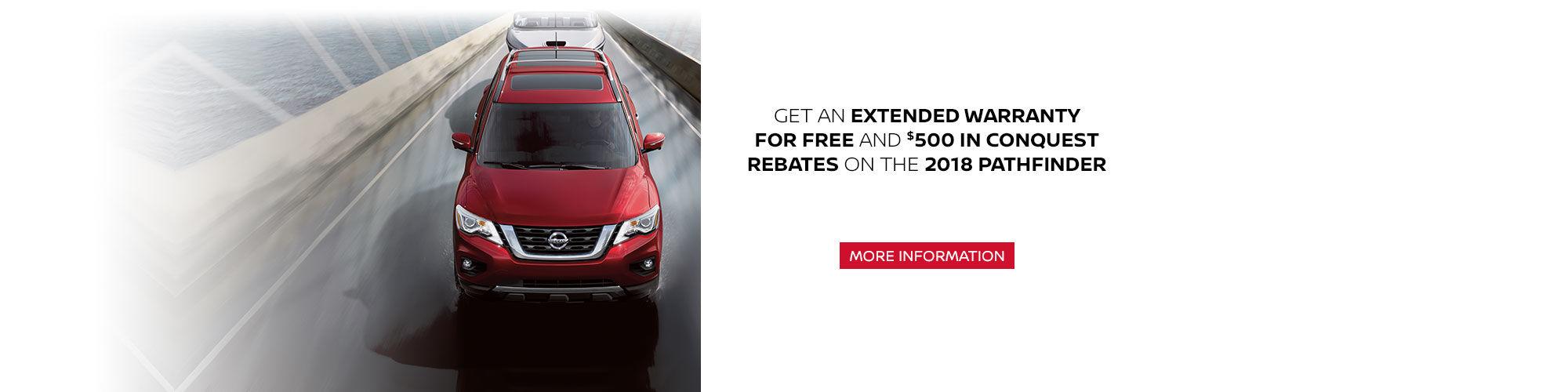 2018 Nissan Pathfinder Promotion