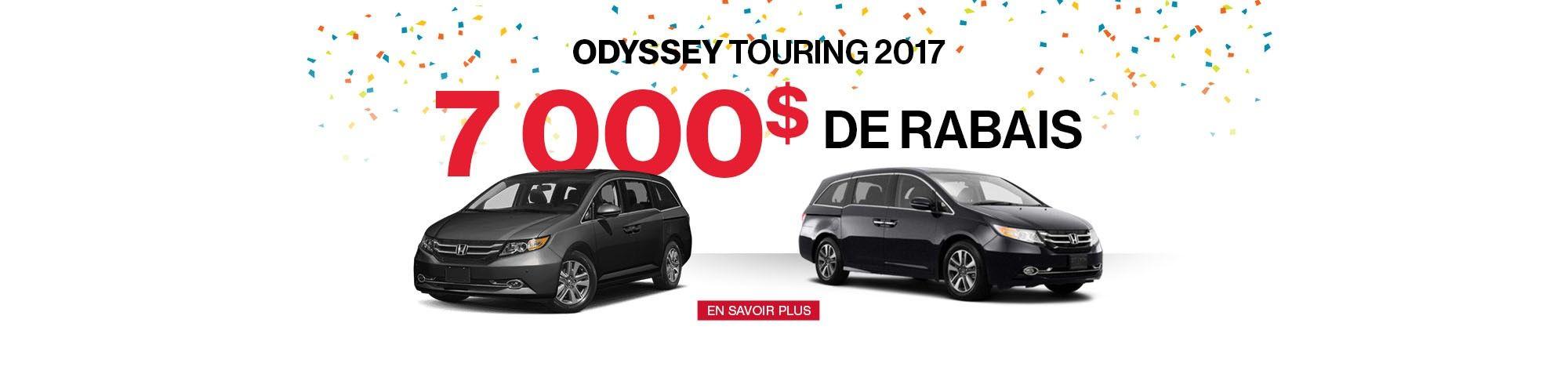 Honda Odyssey 2017 promotion