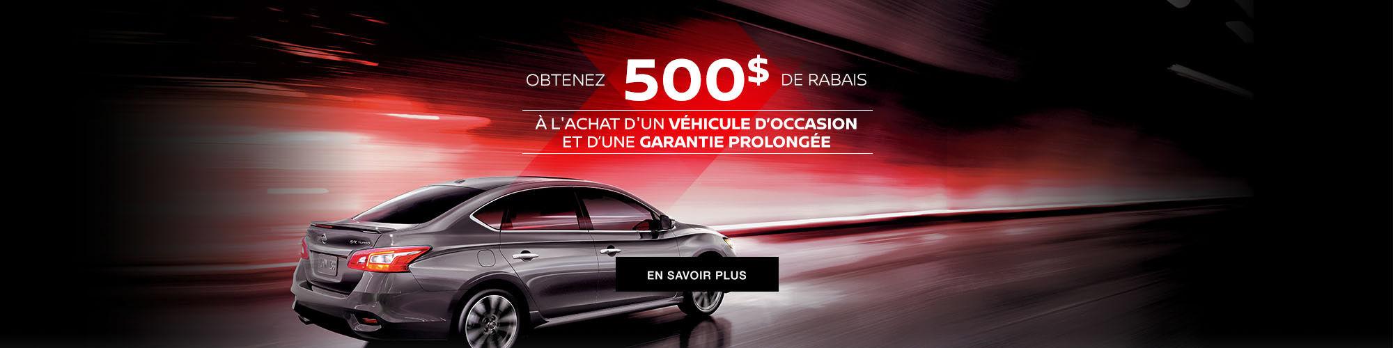 Promo Occasion Nissan