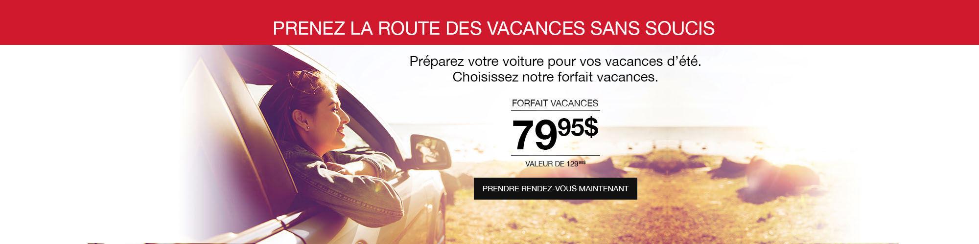 Forfait vacance Toyota