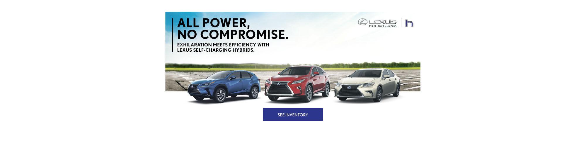 Lexus hybrids