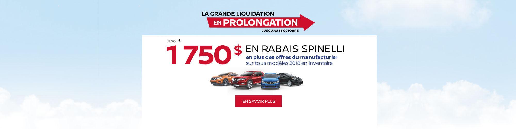 Spinelli Nissan Liquidation