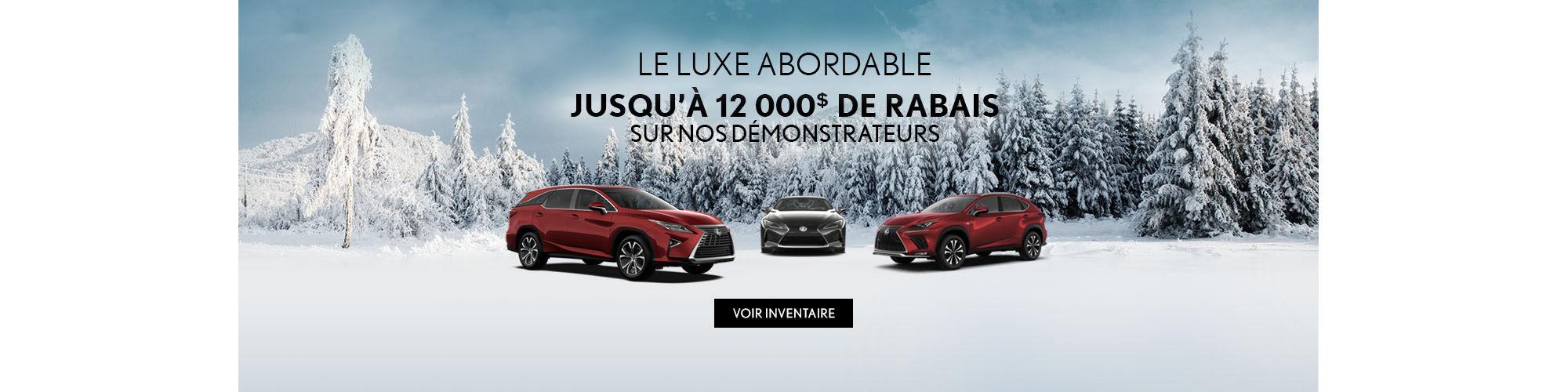 Vente Démonstrateur Lexus