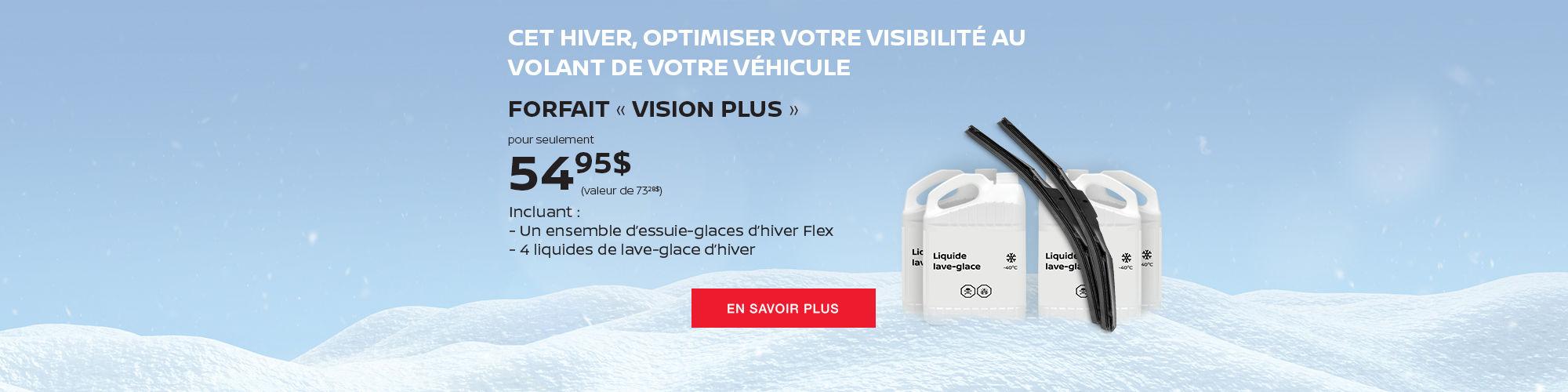 Forfait Vision Plus Nissan