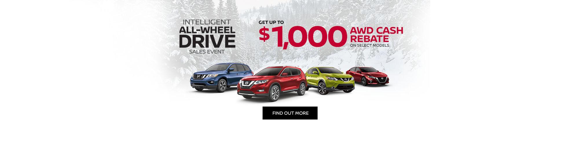 Nissan Intelligent All-wheel Drive Sales Event