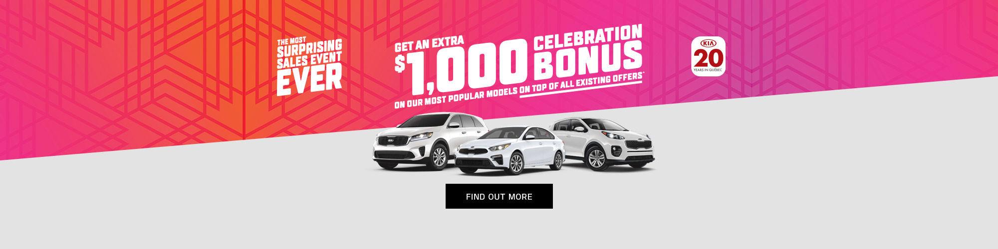 Kia's most surprising Sales Event Ever