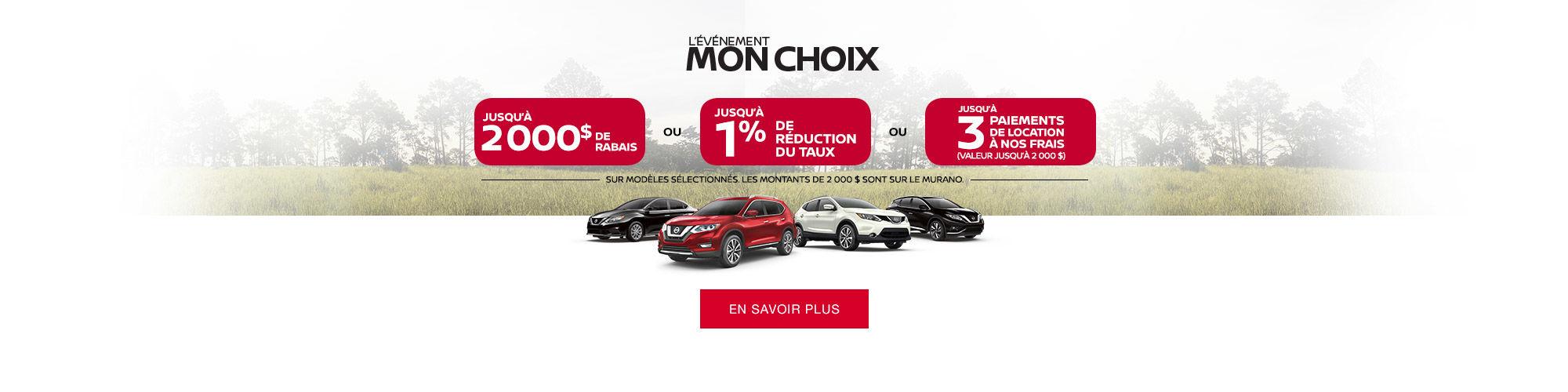 Nissan Mon choix