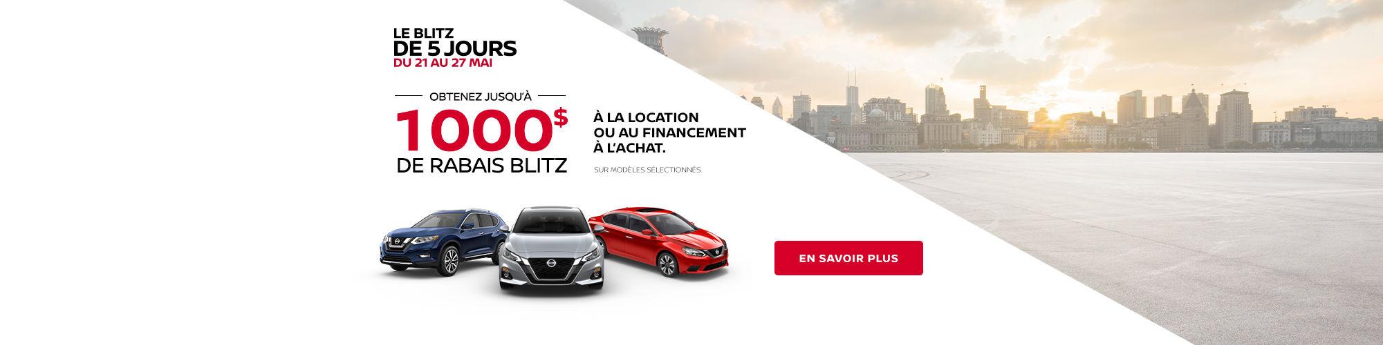 Blitz 5 jours de Nissan