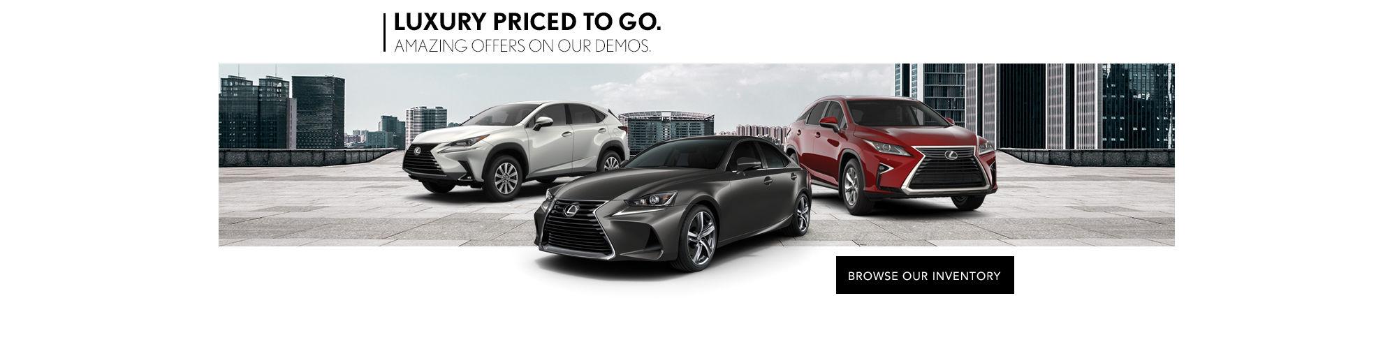 Lexus Demo Sales Event