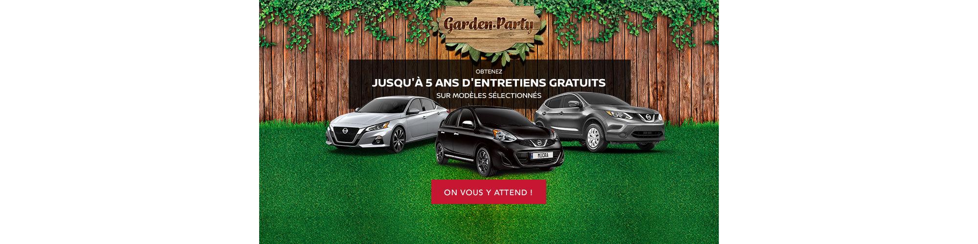 Nissan Garden Party