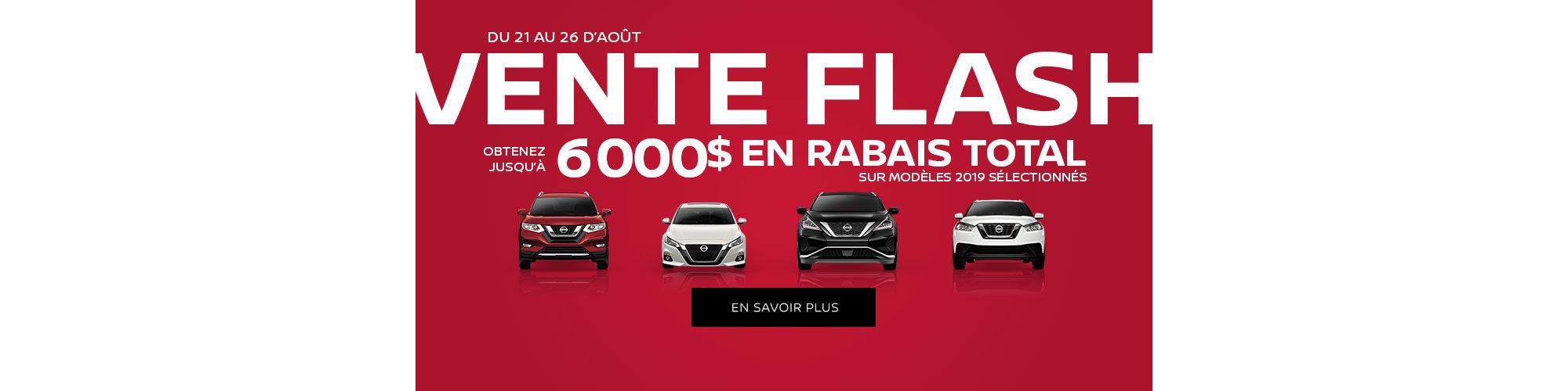Vente Flash Nissan