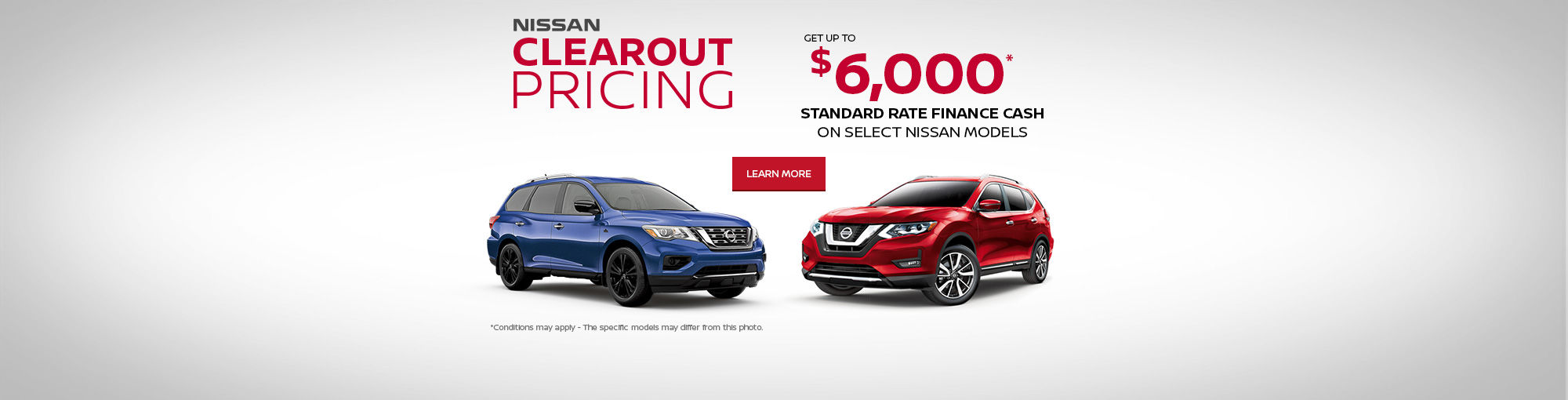 Nissan Clearout Pricing