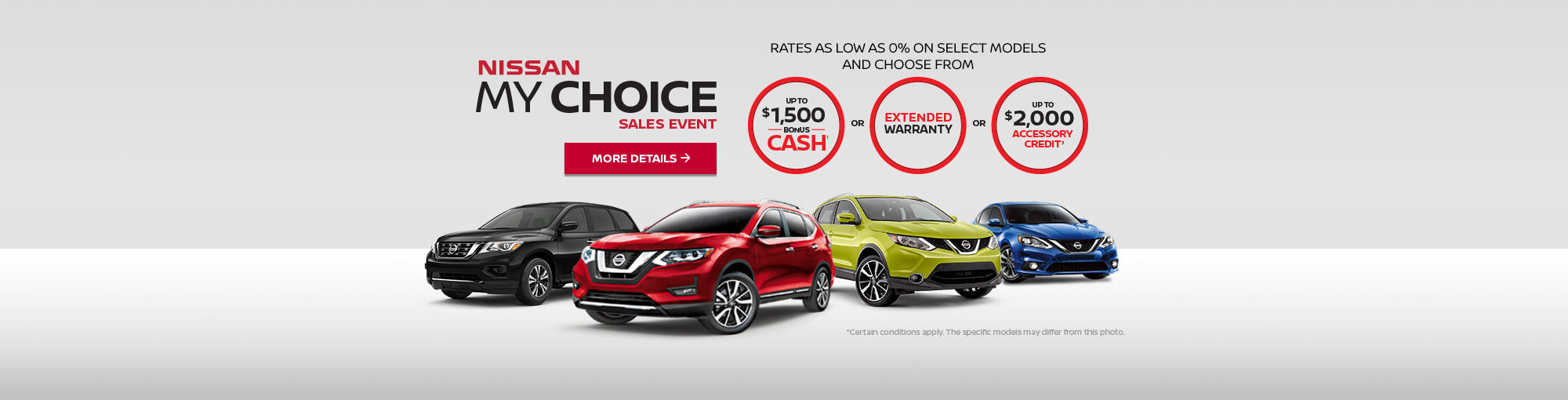 Nissan My Choice Sales Event (web)