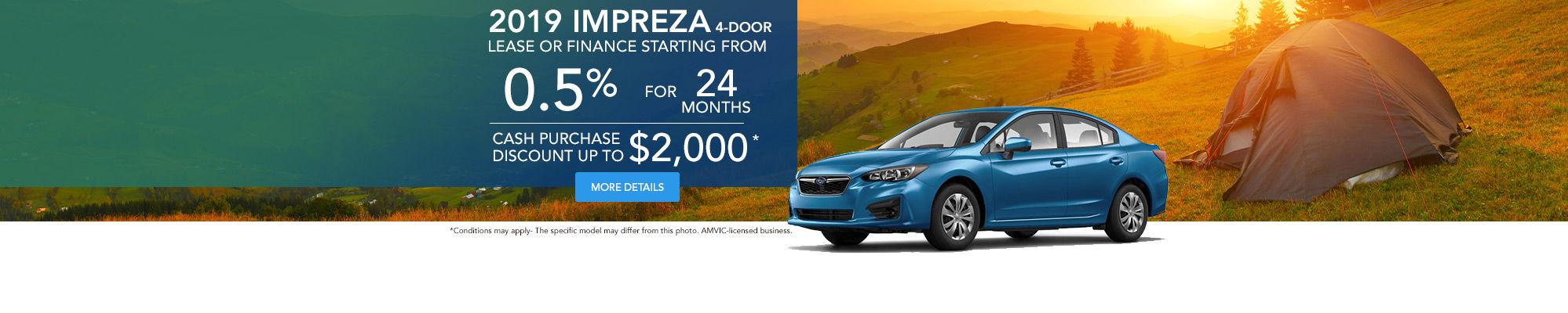 Get The 2019 Subaru Impreza