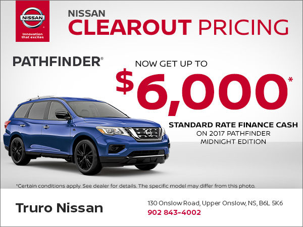 Get the New Nissan Pathfinder Today