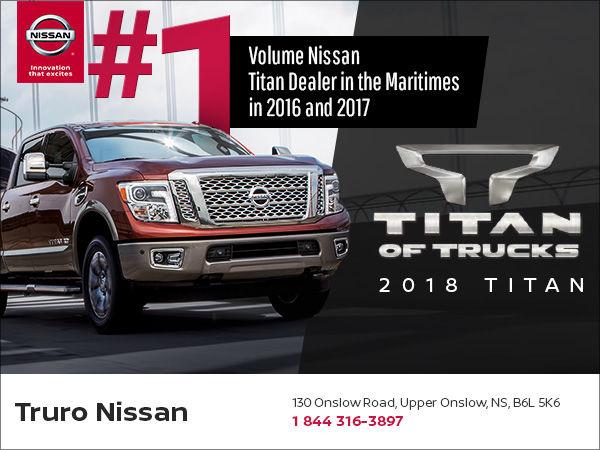 Truro Nissan: The #1 Volume Nissan Titan Dealer in the ...