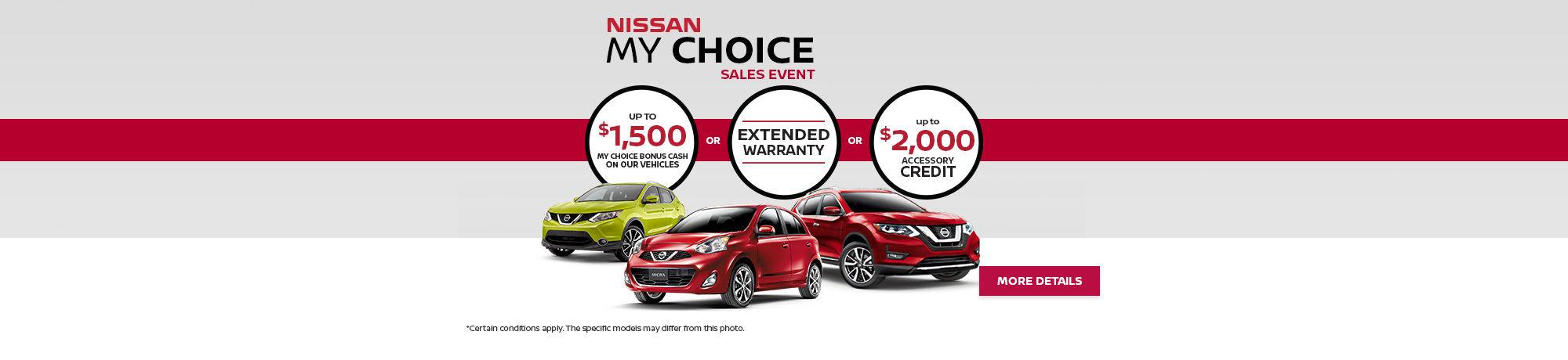 My Choice Sales Event