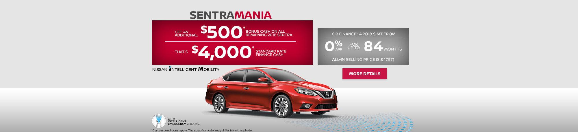 Nissan Sentra Mania - header - desk