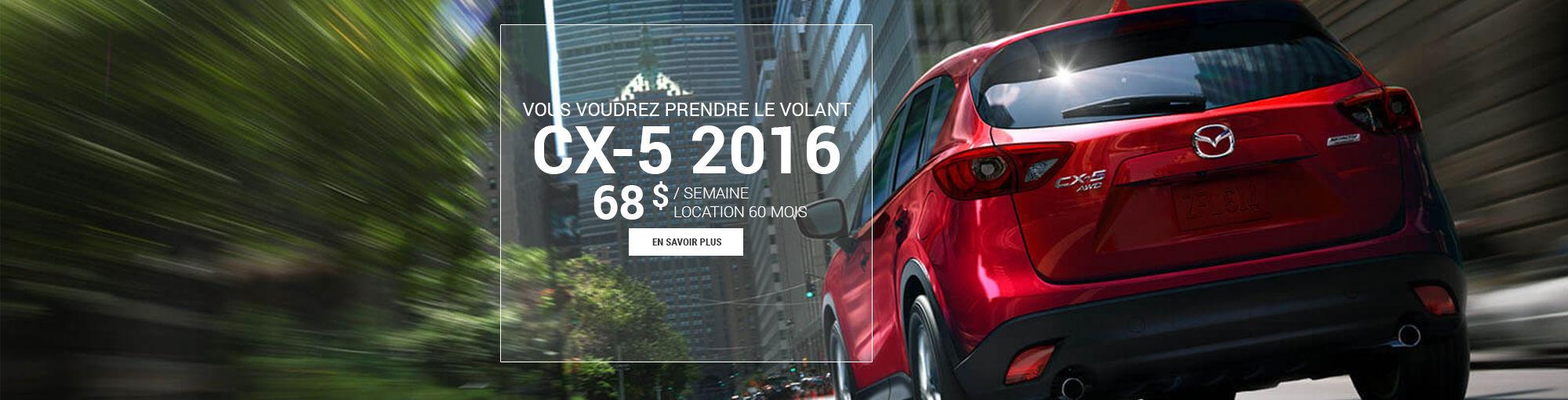 CX5 2016 - août 2016