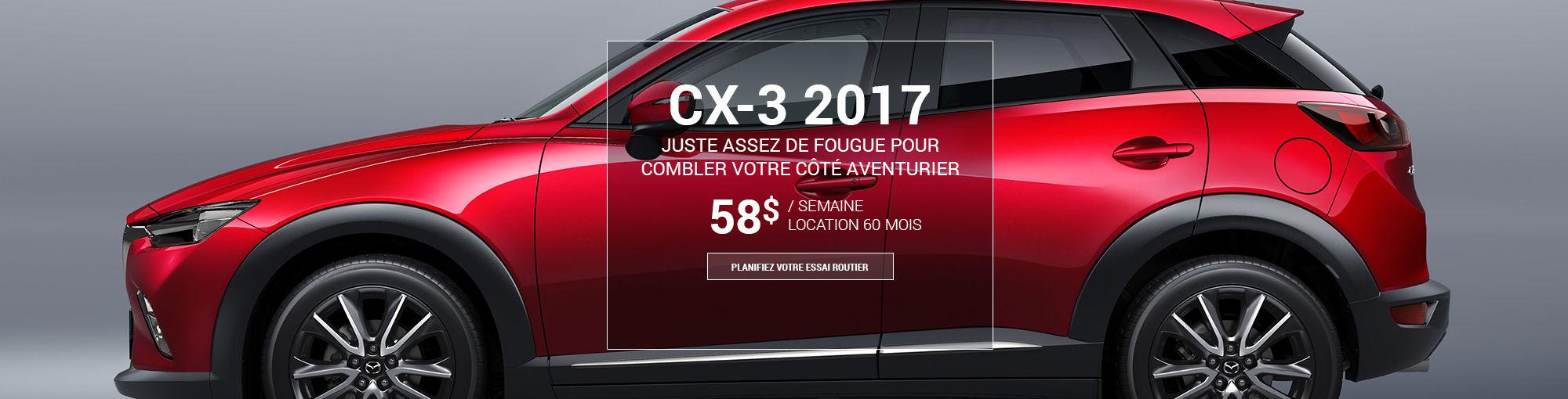 CX3 2017 - octobre 2016