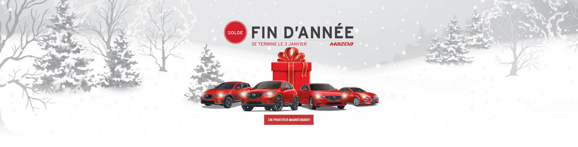 Solde fin année Mazda décembre