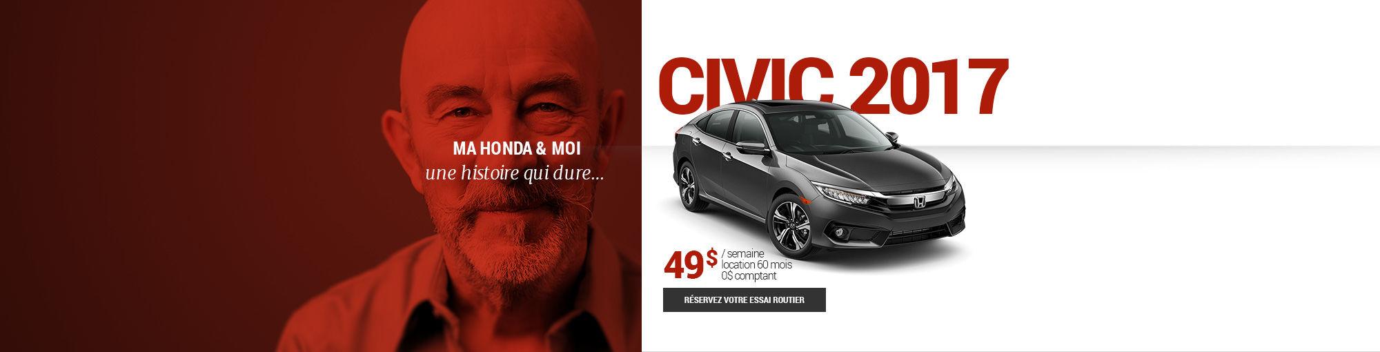 Civic 2017 - février 2017