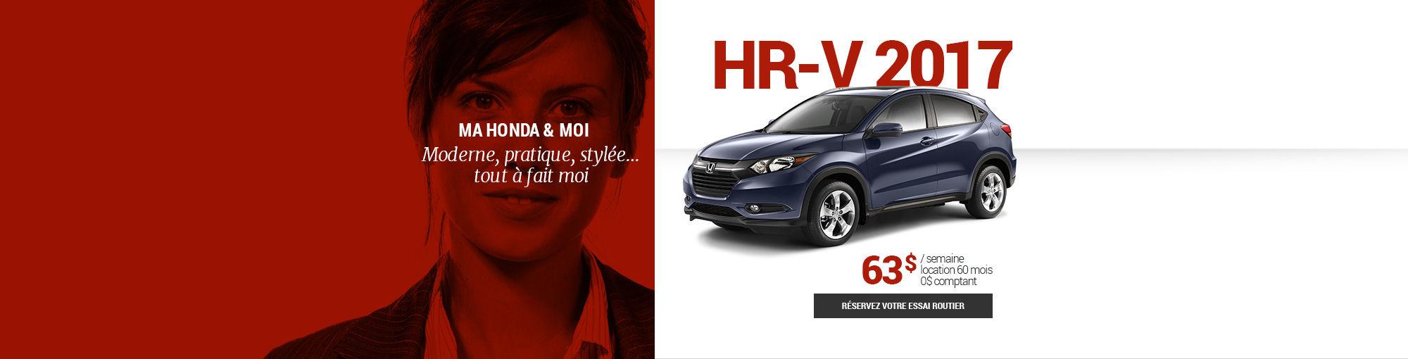 HR-V 2017 - février 2017