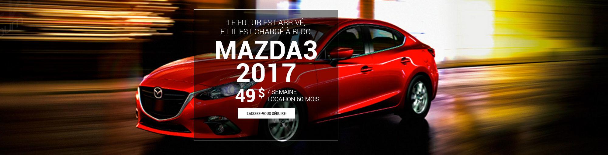 Mazda3 2017 - avril 2017
