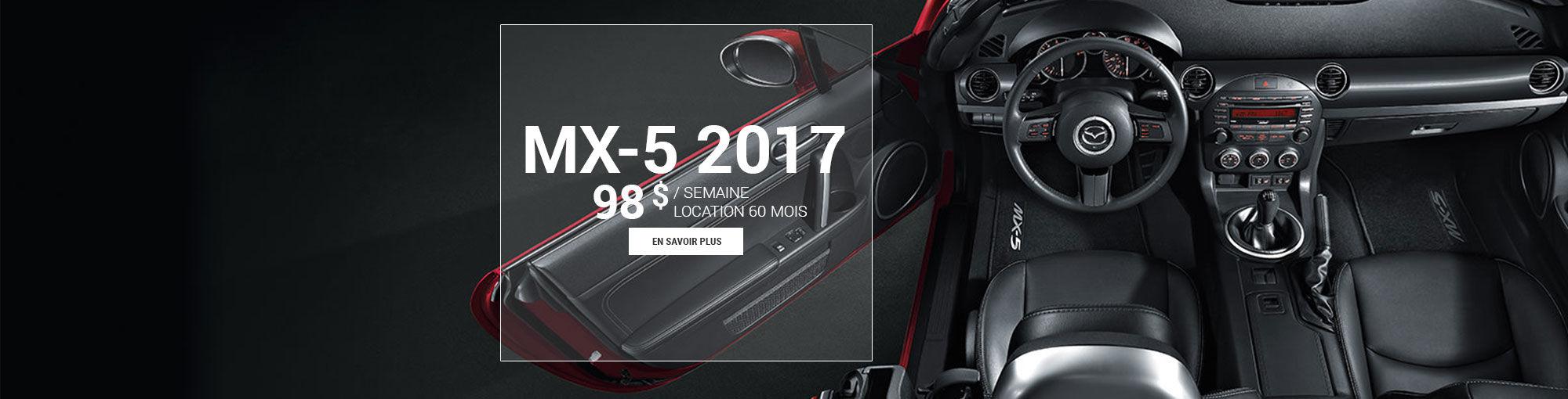 Mazda mx-5 2017 - avril 2017
