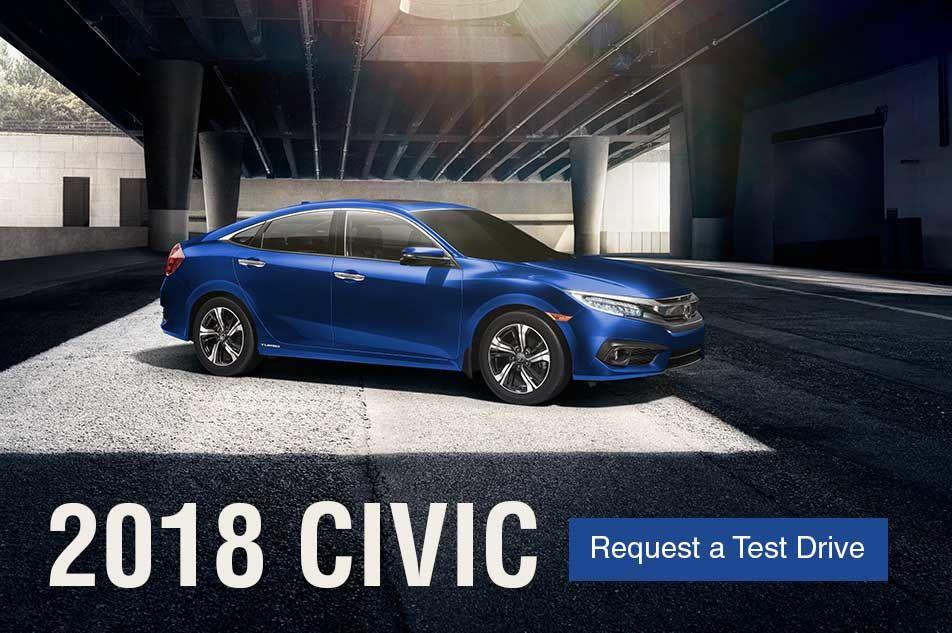 The new 2018 Civic at Bruce Honda