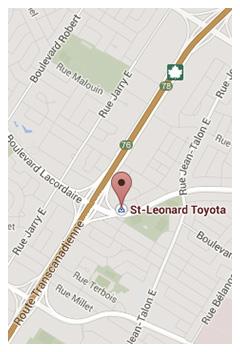 Logo de St-Léonard Toyota