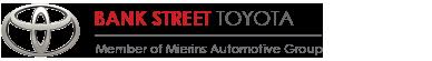 Bank Street Toyota Logo