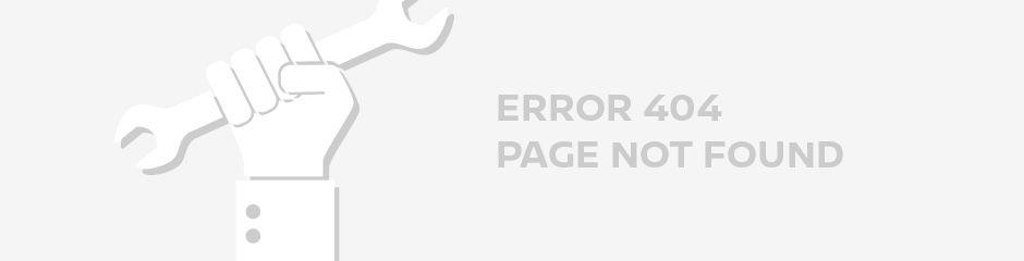 Error 404 - Page not Found