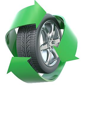 Collecte et recyclage de pneus usés