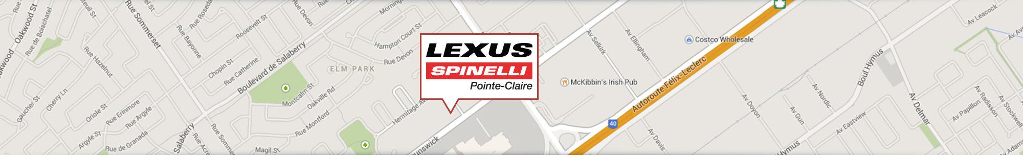 Spinelli Lexus Pointe-Claire