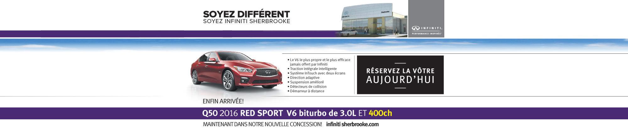 Q50 Red Sport - Mai