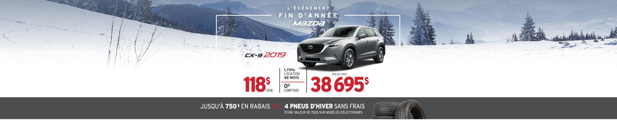 L'ÉVÉNEMENT FIN D'ANNÉE AU GROUPE BEAUCAGE MAZDA - CX-9!