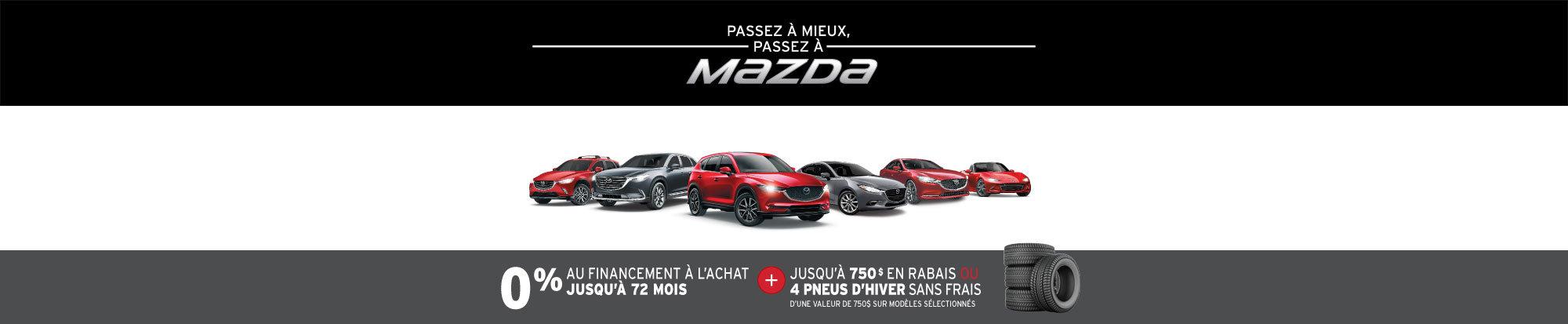 L'événement PASSEZ À MIEUX – PASSEZ AU GROUPE BEAUCAGE MAZDA! web