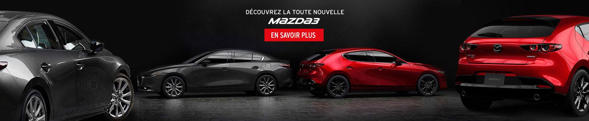 La toute nouvelle Mazda 3